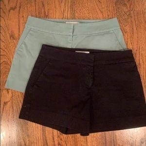 2 pairs of loft riviera shorts